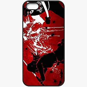 Personalized iPhone 5 5S Cell phone Case/Cover Skin Action Of Rubi Black