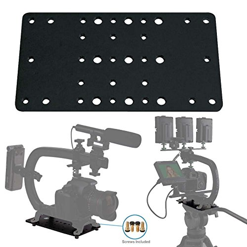 (Cam Caddie Scorpion EX Photo Video Cheese Plate / Tripod Mount with (21) ¼