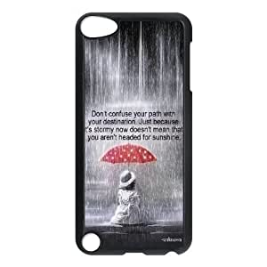 DIY Life Isn'T About Waiting For The Storm To Pass Ipod Touch 5 Phone Case, Life Isn'T About Waiting For The Storm To Pass Customized Hard Back Case for iPod Touch5 at Lzzcase