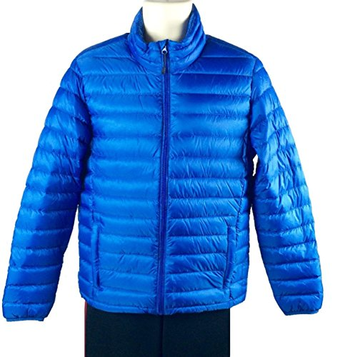 nordic-track-mens-packable-down-jacket-lightweight-coat-with-carry-bag-small-blue