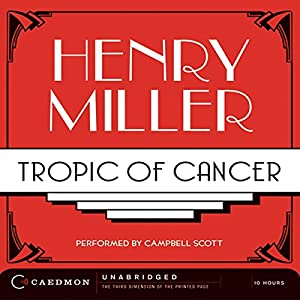Tropic of Cancer Hörbuch