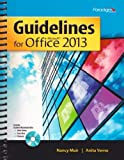 Guidelines for Microsoft Office 2013 (Guidelines Series), Nancy Muir, Anita Verno, 0763852589