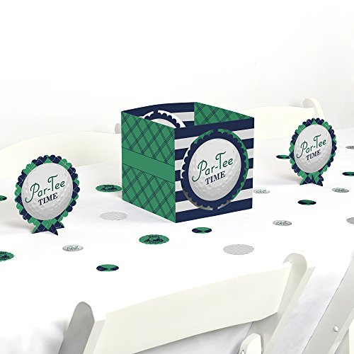 Par-Tee Time - Golf - Birthday or Retirement Party Centerpiece & Table Decoration Kit by Big Dot of Happiness