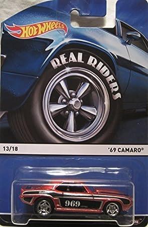 Hot Wheels 1969 Chevy Camaro Orange Real riders