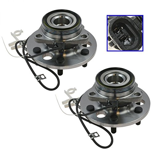 DTA Front Wheel Bearing & Hub Assemblies NT515024 x2 (Pair) Brand New 6 Stud Fit K1500 Tahoe Yukon Escalade 4WD Only 6 Stud Only
