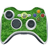 Green Grass Turf Field Xbox 360 Wireless Controller Vinyl Decal Sticker Skin by Moonlight Printing