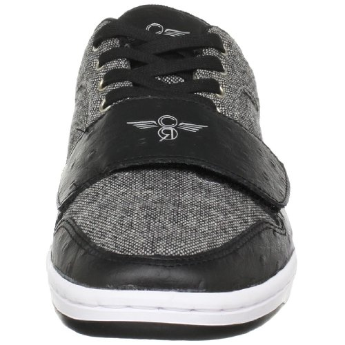 Creative Recreation CESARIO LO CR4LOC - Zapatillas de tela para hombre Black/Tweed/Black/Ostrich