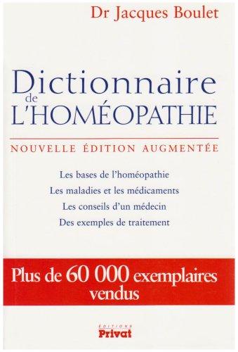 Dictionnaire de lhoméopathie