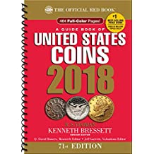 A Guide Book of United States Coins 2018: The Official Red Book, Spiral