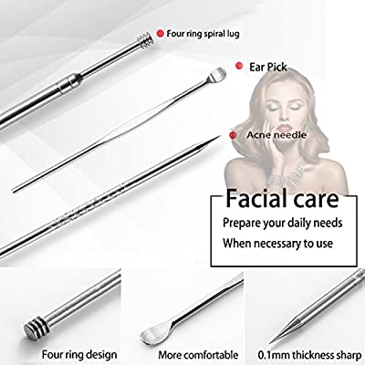 Manicure Pedicure Kit, Professional Stainless Steel Nail Clipper Travel & Grooming Kit Feet, Hand & Nail Tools Manicure & Pedicure Set of 18 All in One Beauty & Personal Care with Travel Case