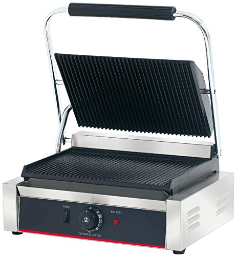 Hakka Commercial Panini Press Grill and Sandwich Griddles Restaurant Grade by HAKKA BROTHERS