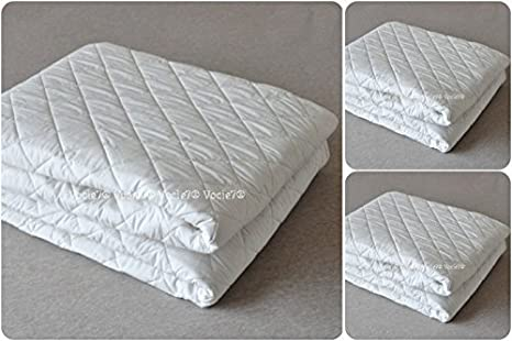 """Luxury Quilted Mattress Protector Cot Single Double King S.King 12/"""" Box"""