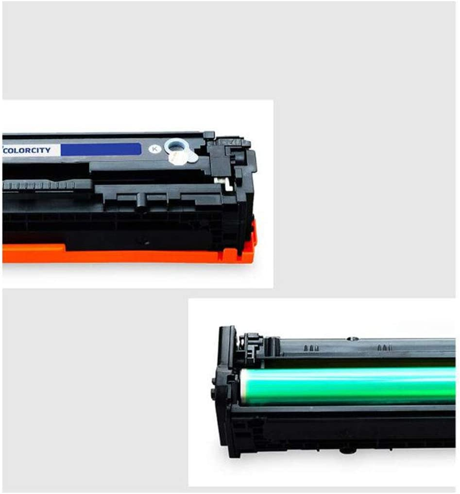 Color Professional Printer Compatible Toner Cartridge Replacement for HP CF500A 202A//M254nw//M254dw//M254dn//M280nw//Pro M281fdw//M281fdn Office-Combination-4colors Low Cost with Chip