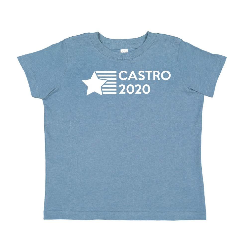 Presidential Election 2020 Toddler//Kids Short Sleeve T-Shirt Star//Stripes Mashed Clothing Castro 2020
