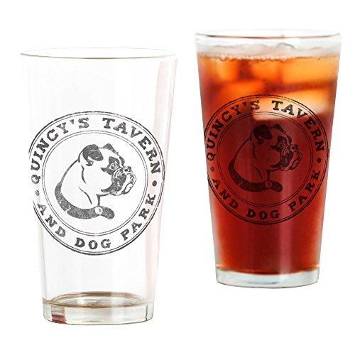 CafePress Quincy's Logo Pint Glass, 16 oz. Drinking Glass