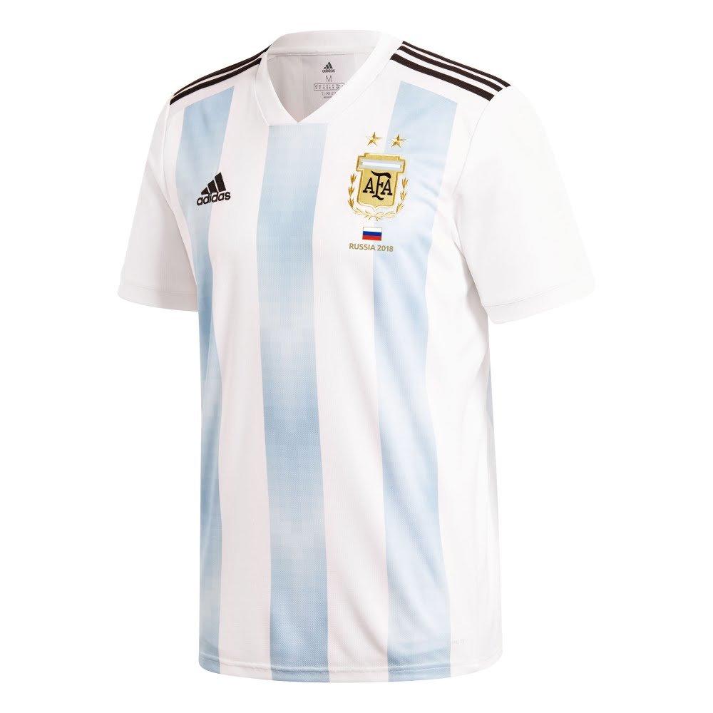 Argentinien Home Trikot 2018 inkl Gratis Russland 2018 Druck - L