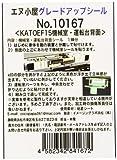 エヌ小屋(エヌゴヤ) エヌ小屋(イメージングラボ浜松) グレードアップシール KATO EF15用 機械室・運転台背面 表現シール (1両分)