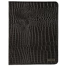 Members Only Genuine Leather Stand Up Portfolio Case Cover For Apple iPad 2, 3, 4 Gray Gator - Retail Packaging