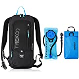 Trekoo 10L Biking Backpack with 2L Water Bladder for Camping Hiking Running Cycling Hunting Climbing