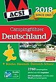ACSI Campingführer Deutschland 2018: + Benelux-Dänemark-Österreich-Schweiz, 2760 Campingplätze (Hallwag Promobil)