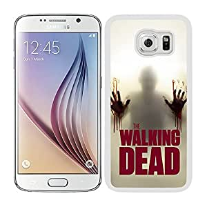 Funda carcasa TPU (Gel) para Samsung Galaxy S6 diseño the walking dead 3 borde blanco