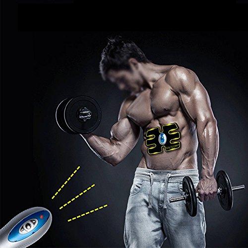 Finlon Abdominal Muscle Toner Toning Belt,Waist Trimmer B...