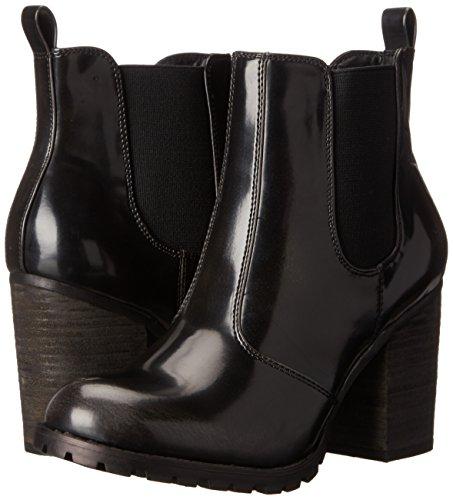887865345343 - Madden Girl Women's Anarchhy Boot, Black/Grey, 6.5 M US carousel main 5