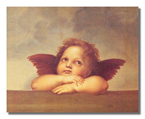 - Raphael Single Cherub Angel Religious Wall Picture 8x10 Art Print