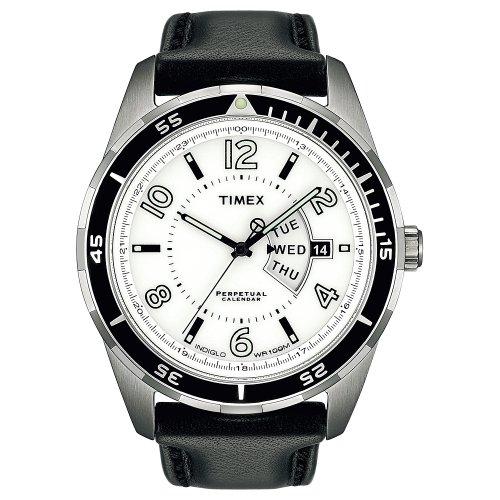 Timex Men's T2M507 Premium Collection Perpetual Calendar Sport Luxury Watch