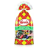 Kerr's Assorted Toffee Caramel Candies with 7 Different Flavors: Vanilla, Coffee, Toasted Coconut, Rum & Butter, Peppermint, Spearmint, Licorice {Proudly Made in Canada} (1 - Bag)