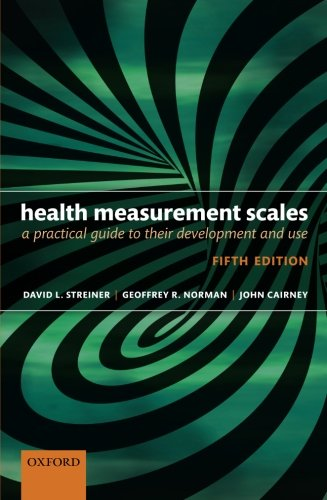 Health Measurement Scales: A practical guide to their development and - Scale Oxford