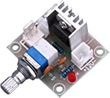 Yeeco TY100 LM317 Linear Full-Stage Voltage Regulator Volt Regulated Board Fan Speed Controller Control Switch Governor Governing