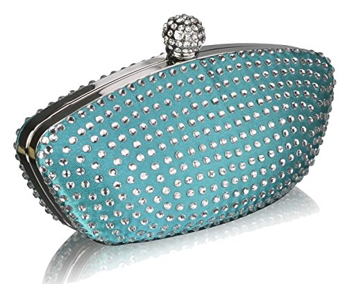 Purse Clutch SAVE 50 Emerald UK DELIVERY Wedding Diamante Bag Gorgeous Evening FREE Encrusted Wq0Z6wRyt