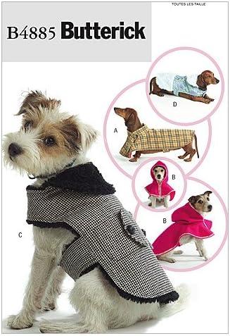 BUTTERICK PATTERNS B4885OSZ Dog Coats