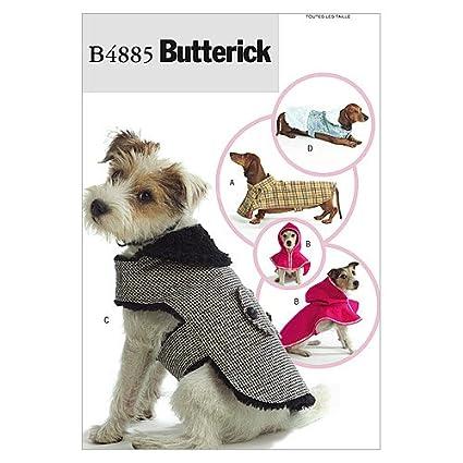 Amazon Butterick Patterns B60 Dog Coats All Sizes Delectable Dog Jacket Pattern