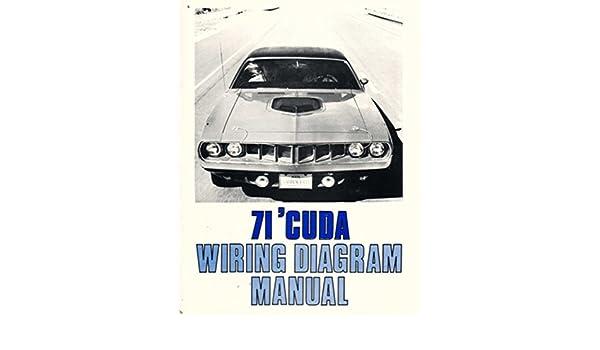 Admirable Amazon Com Bishko Automotive Literature 1971 Plymouth Barracuda Wiring Cloud Intapioscosaoduqqnet