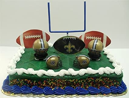 Image Unavailable Not Available For Color NFL Football New Orleans Saints Birthday Cake