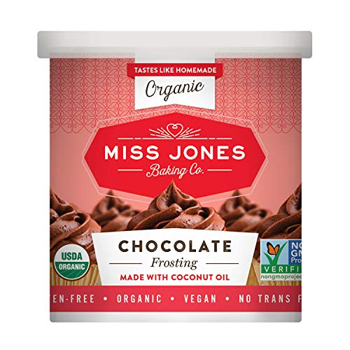 Miss Jones Baking Organic Buttercream Frosting, Chocolate (Pack of 1) (The Best Whipped Frosting)
