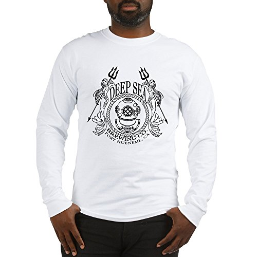 CafePress Brewery Logo Unisex Cotton Long Sleeve T-Shirt White