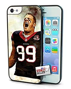 Houston Texans JJ Watt Single Cell Phone Hard Protection For SamSung Galaxy S6 Case Cover