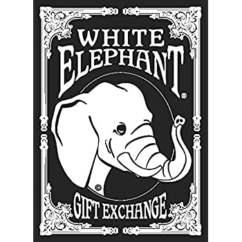 white elephant gift exchange card game by white elephant toys games. Black Bedroom Furniture Sets. Home Design Ideas