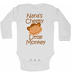 Cute Babies Bodysuit Clothing Cheeky Monkey Baby Grow