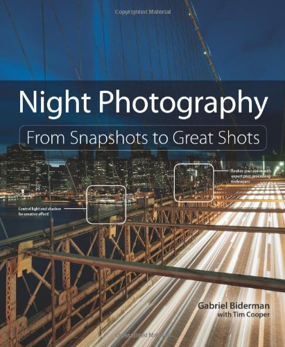 Are you a night owl looking to make stunning images of streetscapes,fireworks, or the night sky? Do you like to bend time withlong exposure photography? Do star trails or lightning strikesinspire you? Then this book is for you!     In Night Pho...