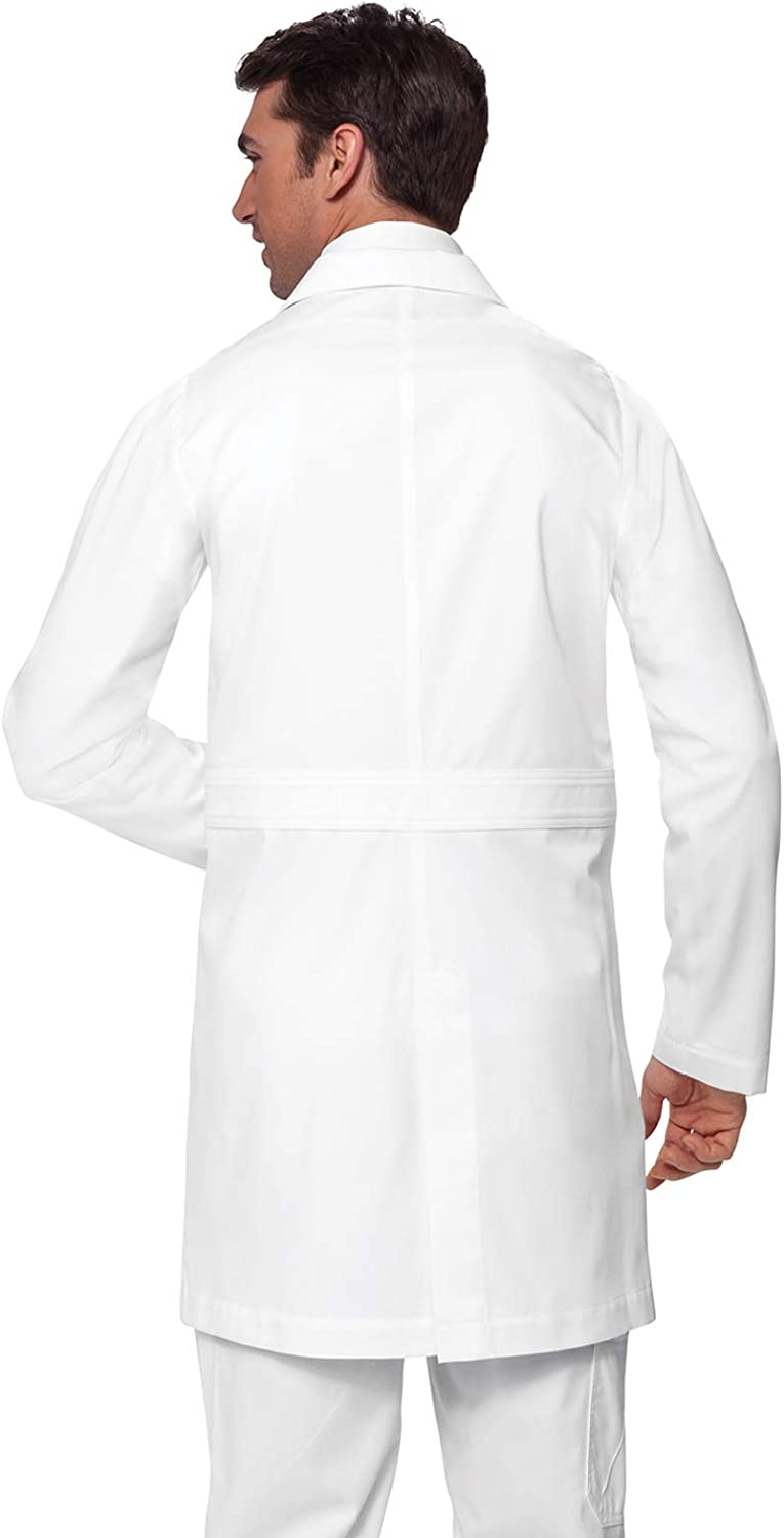 KOI Classics Modern & Professional Men's Jack Lab Coat: Clothing