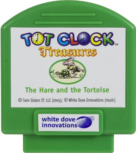 compatible with New /& Improved Tot Clock only Town Mouse /& Country Mouse White Dove Innovations TCT32 Tot Clock Treasures: Hare /& Tortoise