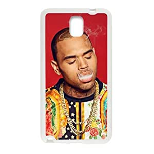WWWE Chris Brown Cell Phone Case for Samsung Galaxy Note3