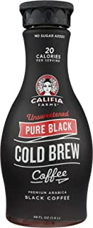 product image for Califia Farms (NOT A CASE) Pure Black Cold Brew Coffee Unsweetened