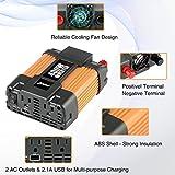 Ampeak 400W Power Inverter 12V to 110V AC Car