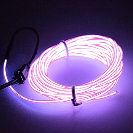 1M rose Pour d/écoration de f/ête de No/ël Bande lumineuse LED Calistous Flexible