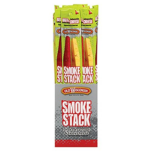 Old Wisconsin Smoke Stack Beef and Jalapeno , Assorted, 2.5